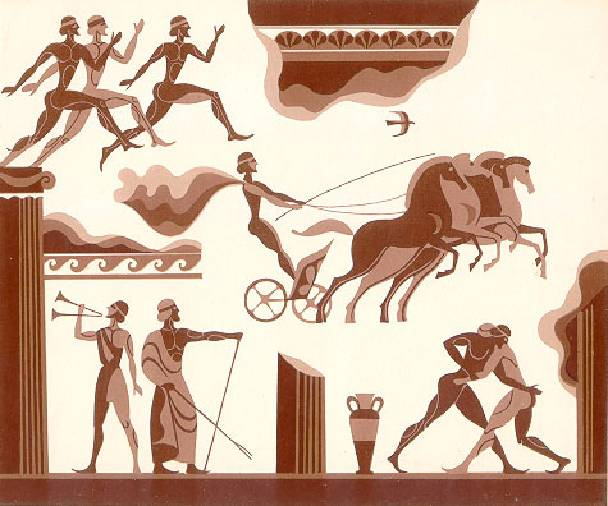 Первые современные Олимпийские игры