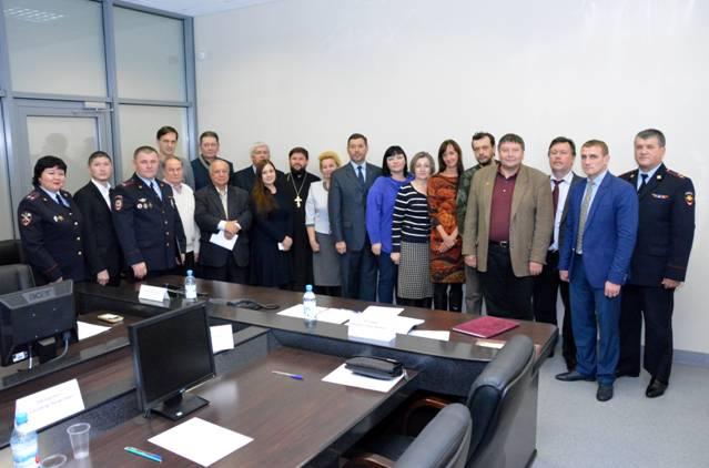 Заседание нового состава Общественного совета при УМВД