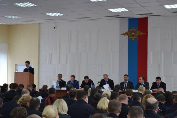 ПОДВЕДЕНИЕ ИТОГОВ В УМВД РОССИИ ПО Г. ОМСКУ