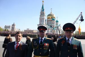 9 мая в Омске 9