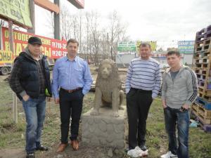 Друзья из Читы в Омске 1