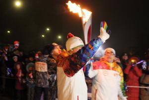 Калачинск - столица Эстафеты Олимпийского огня! 15
