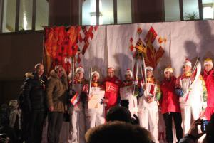 Калачинск - столица Эстафеты Олимпийского огня! 21