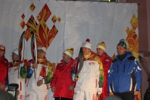 Калачинск - столица Эстафеты Олимпийского огня! 22