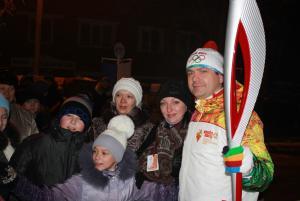 Калачинск - столица Эстафеты Олимпийского огня! 4