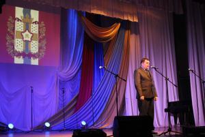 Концерт, посвященный 34-й годовщиня со дня ввода войск в Афганистан 1