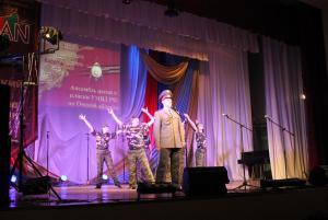 Концерт, посвященный 34-й годовщиня со дня ввода войск в Афганистан 8