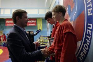 Межрегиональный турнир по самбо памяти Петровых 15
